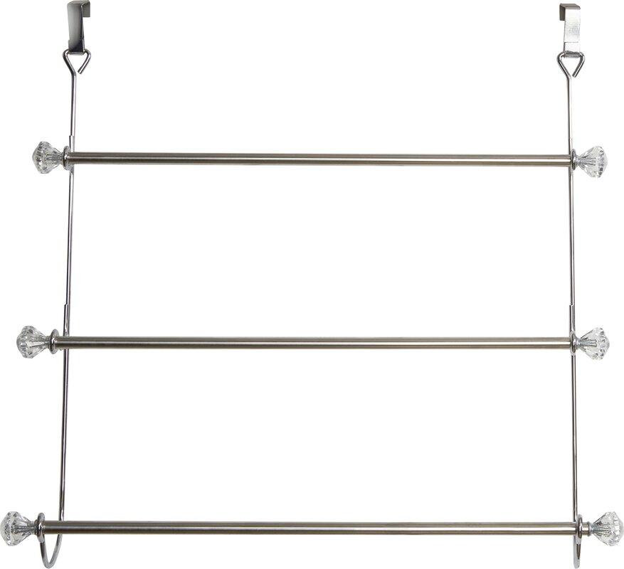 Wayfair Basics 3 Tier Over-the-Door Towel Rack