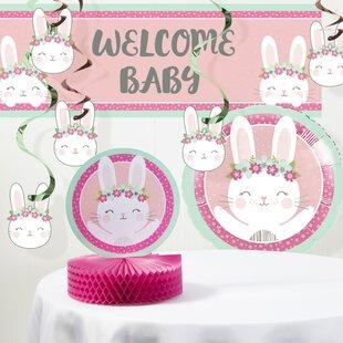Pink Baby Shower Decorations Wayfair