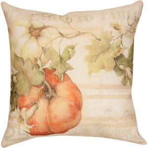 Buy Pumpkins Farm to Table Knife Edge Throw Pillow!