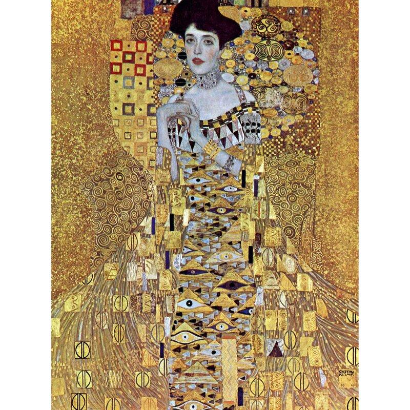 Frau In Gold Klimt