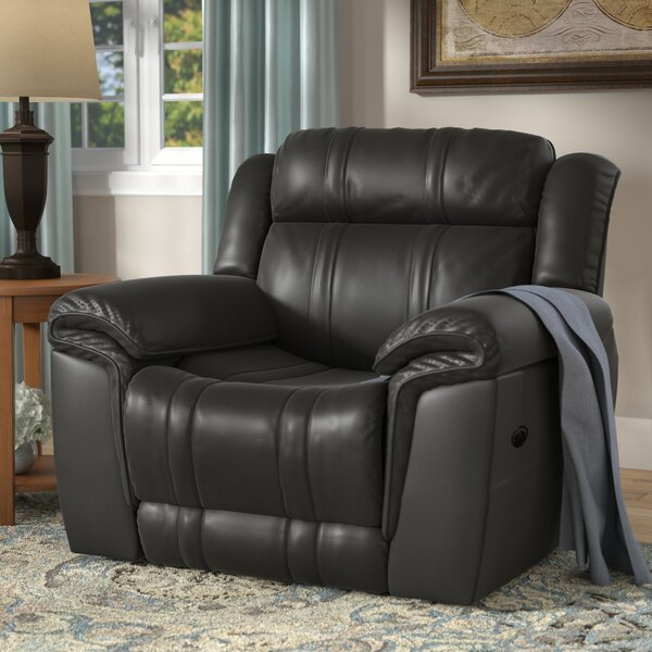 & Andover Mills Chastain Power Leather Recliner u0026 Reviews | Wayfair islam-shia.org