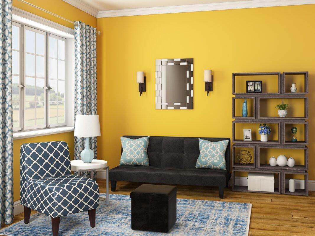 Wrought Studio Logan Modern Wall Mirror & Reviews | Wayfair