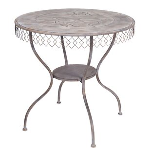 Tussey Table With Bird Folding Bistro Table