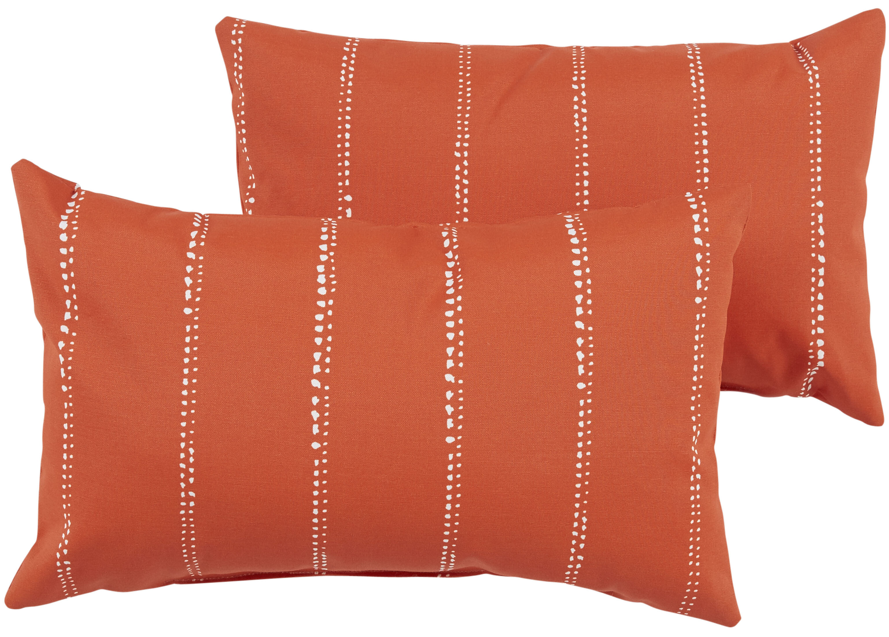 thomas trellis lumbar pillow today handmade orange shipping throw home usa greek geometric in free product ivory garden collection overstock