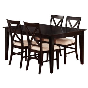 Crestwood Traditional 5 Piece Dining Set by Andover Mills
