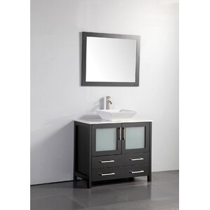 Bathroom Vanity With Bowl Sink vessel sink vanities you'll love | wayfair