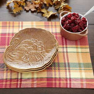 Turkey Dinner Plates (Set of 4)