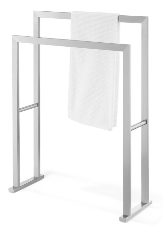 Linea Free Standing Towel Stand Amp Reviews Allmodern