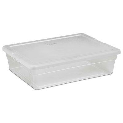 28 Qt. Clear Storage Box  sc 1 st  Wayfair & Sterilite 28 Qt. Clear Storage Box u0026 Reviews | Wayfair