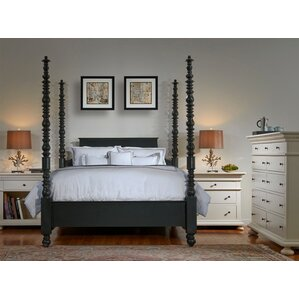 California King Four Poster Bedroom Sets You\'ll Love | Wayfair