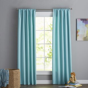 Coral And Turquoise Curtains