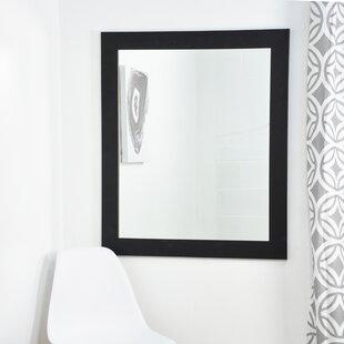 Clic Black Entry Way Wall Mirror