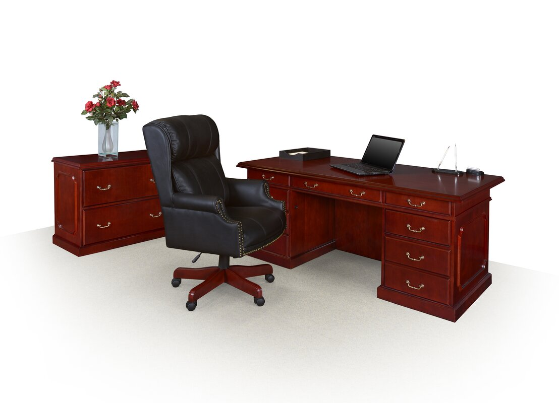Regency Ivy League High Back Leather Executive Chair