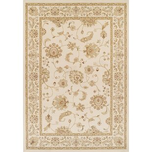 Haines Cream Rug by Three Posts