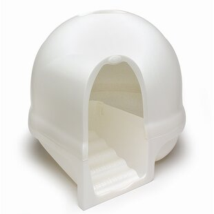 Dome, Cleanstep Cat Box in Pearl by Petmate