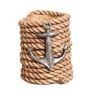 Nautical Rope Tabletop Wine Bottle Holder..