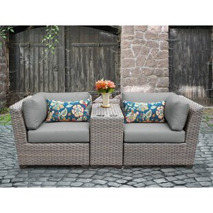 Modern Contemporary Gray Wicker Patio Furniture Allmodern