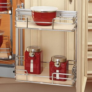 Two-Tier Blind Corner Organizer (Left)