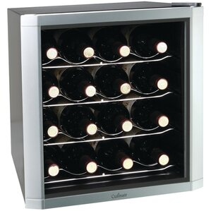 16 Bottle Single Zone Freestanding Wine Cooler by Culinair