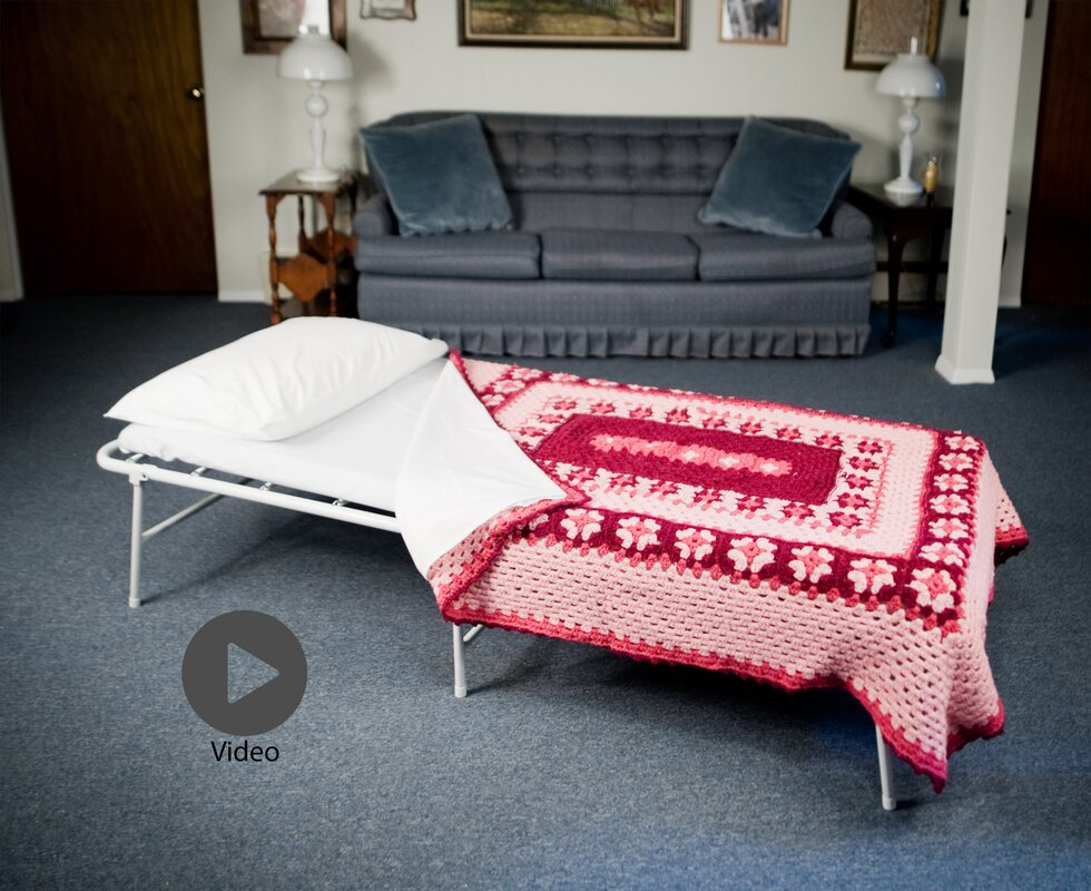Symple Stuff iBed™ Folding Bed and Mattress & Reviews   Wayfair