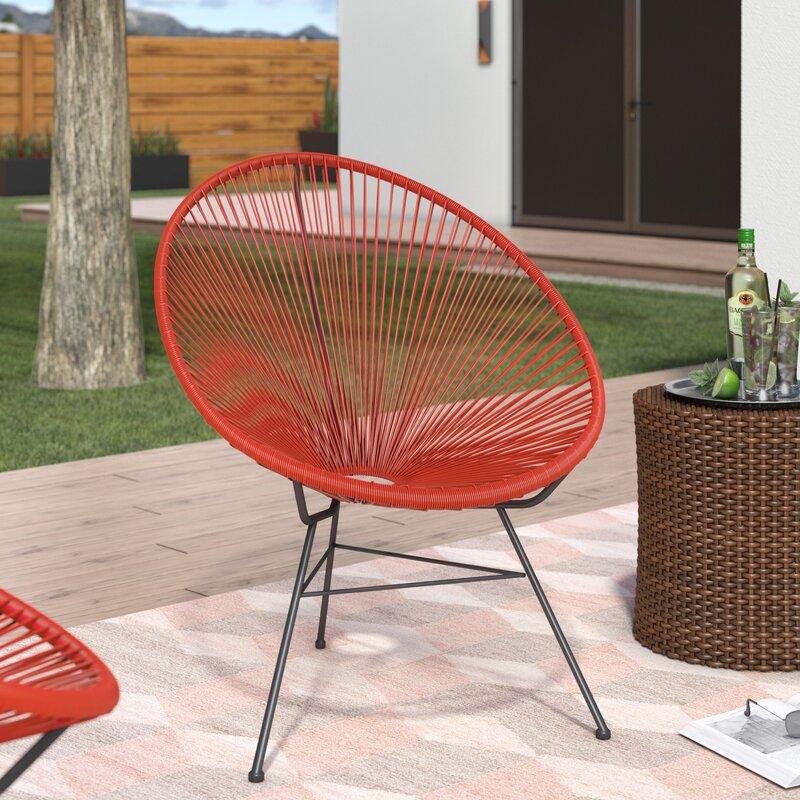 Elegant Bradley Acapulco Papasan Outdoor Chair