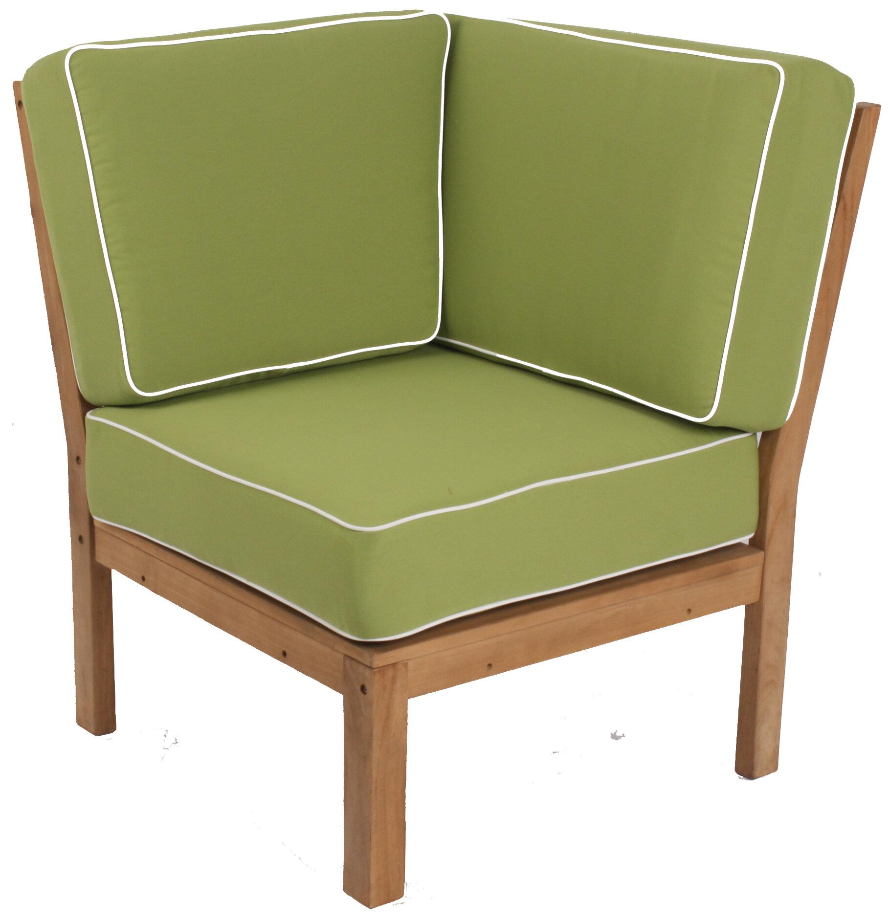 Cambridge Casual Kensington Teak Patio Chair With Cushions Wayfair