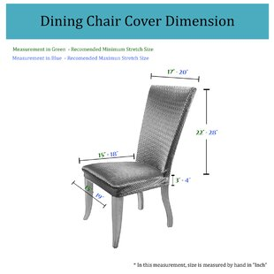 Basket Weave Dining Chair Cover