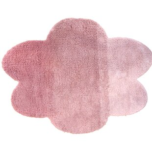 Cloud Tufted Gradient Pink Rug by Art for kids