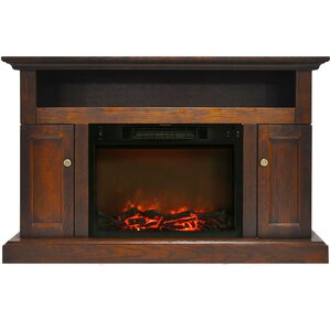 Broncho Electric Fireplace TV Stand by Alcott Hill