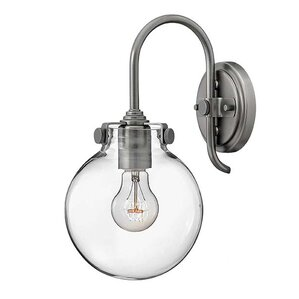 Bunnell 1-Light 100W Wall Sconce