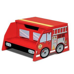Firefighter Fire Truck Step Stool with Storage by KidKraft