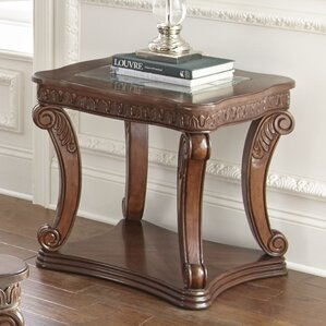 Albers End Table by Fleur De Lis Living
