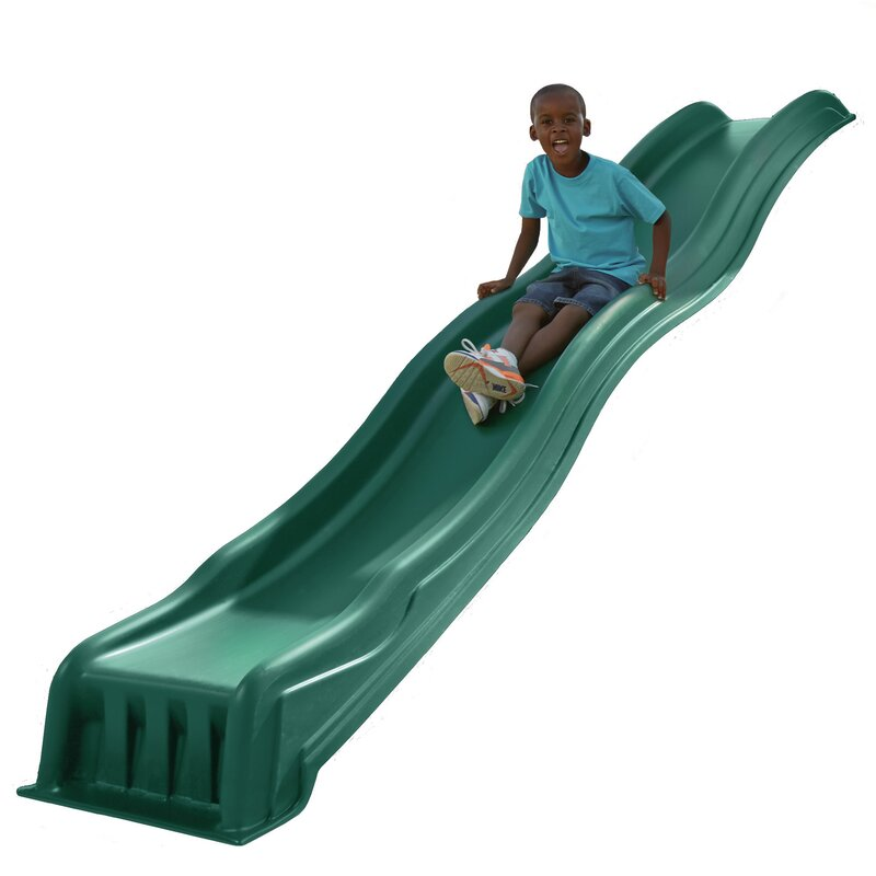 Swing N Slide Cool Wave 7 Foot Slide Amp Reviews Wayfair