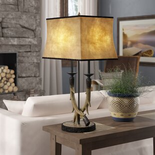 Kaaterskill Antler Twinlight 32 Table Lamp