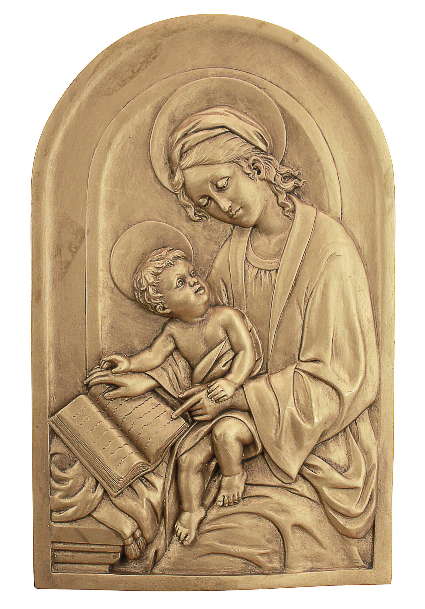 Design Toscano St. Anne, Patron Saint of Grandmothers Wall Décor ...