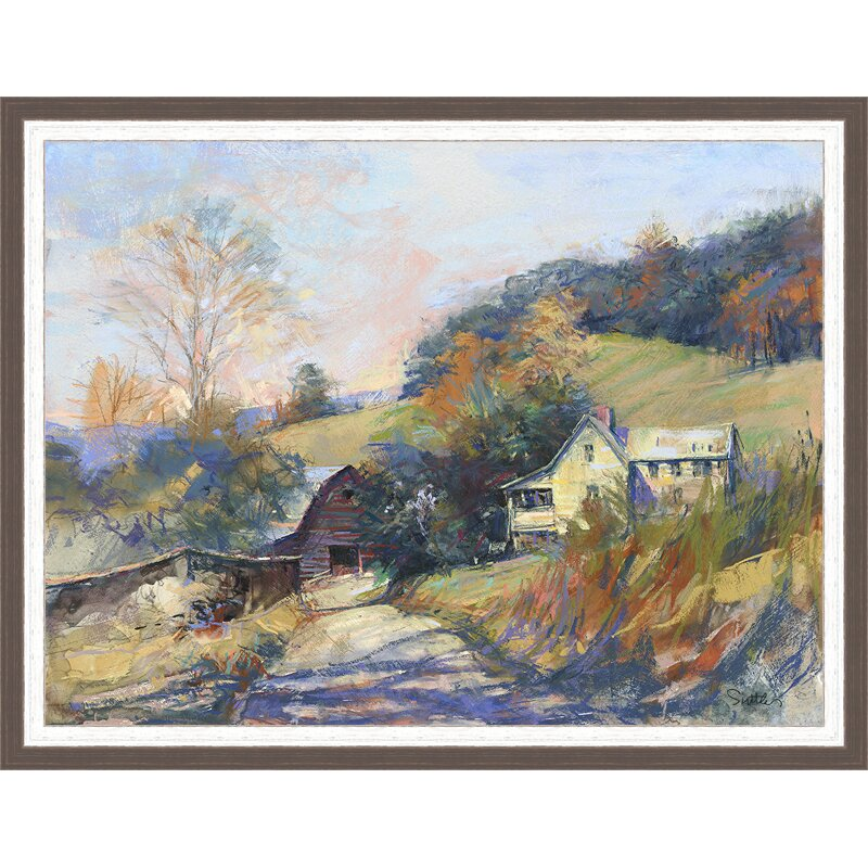 Ashton Wall Décor LLC Country Colors \'Peace in the \'Valley\' Framed ...