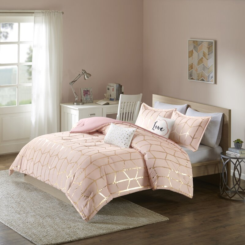 Willa arlo interiors mangesh comforter set reviews - Willa arlo interiors keeley bar cart ...