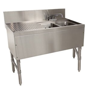 Delightful Prestige Series Free Standing Service Utility Sink With Faucet