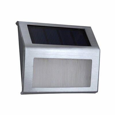 Solar Powered 2 Light Led Pathway Light (set Of 2) Aleko