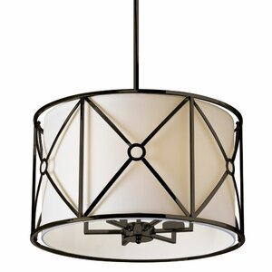Ferrell 6-Light Drum Chandelier
