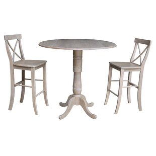 Kimble 3 Piece Pub Table Set