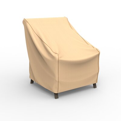 BudgeIndustries Chelsea Outdoor Chair Cover Size: 31 H x 30 W 27 D