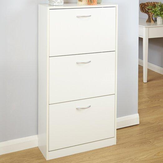 Home loft concept humphrey 18 pair shoe storage cabinet reviews - Shoe cabinet for small spaces concept ...