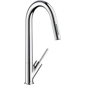 Axor Starck Single Handle Deck Mounted Kitchen Faucet
