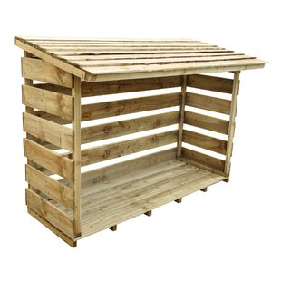 6 Ft. W X 3 Ft. D Wooden Log Store