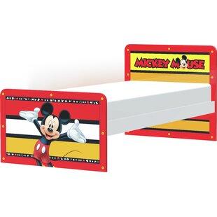Ashlyn Mickey Stripes Small Single Platform Bed by Zoomie Kids