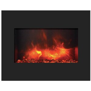 Amantii Zero Clearance Wall Mount Electric Fireplace