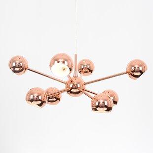 Ceiling chandeliers wayfair telstar 8 light sputnik chandelier aloadofball Gallery