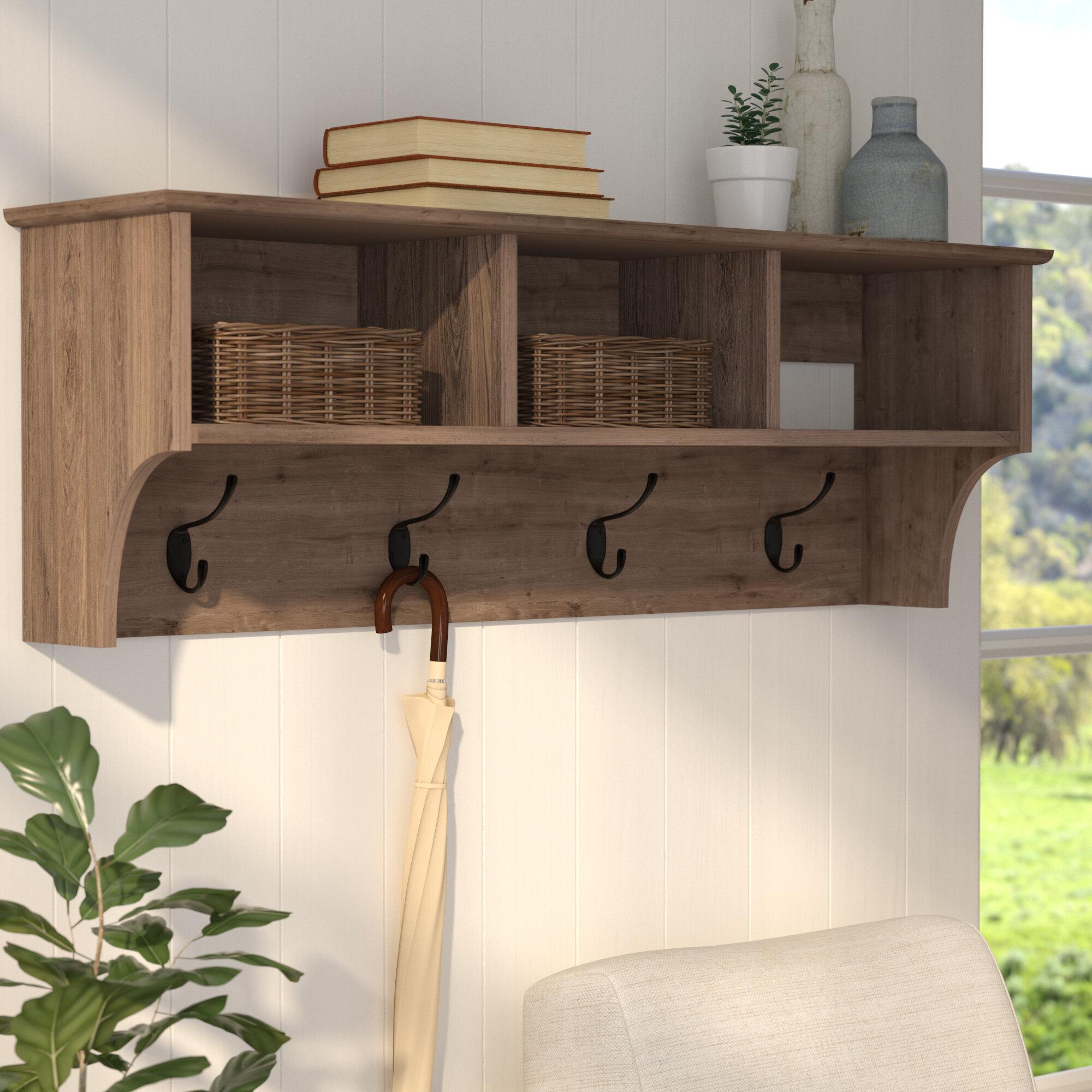 x john home mounted rack design hanging coat wall shelf