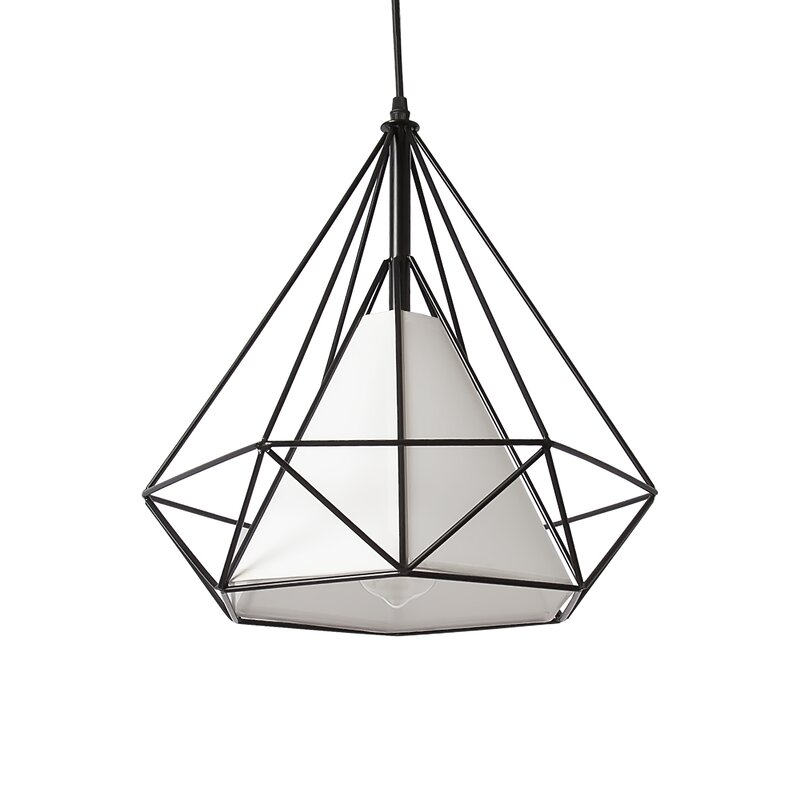 Wrought Studio Estrada 1 Light Pendant Reviews